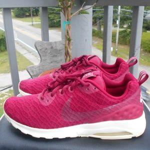 Nike Air Women's size 10 Maroon Sneakers.
